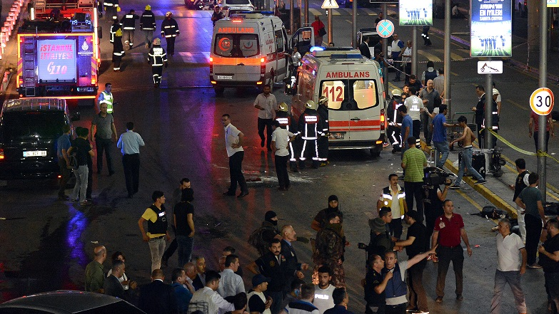 Explosions and gunfire reported at Istanbul's international airport