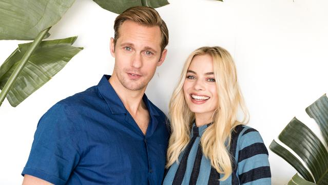 'The Legend of Tarzan' stars Alexander Skarsgard and Margot Robbie share their real-life wildlife encounters with USA TODAY.