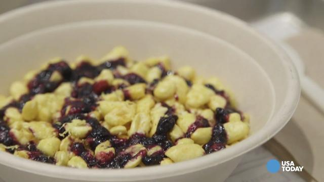 See inside chic Kellogg's cereal cafe