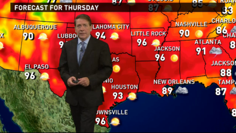 Thursday's forecast: Wet and stormy Gulf Coast