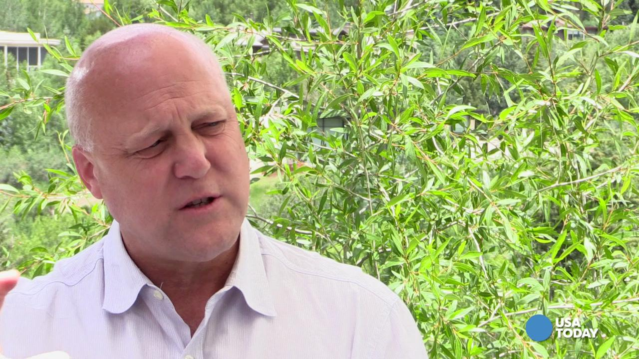 In a conversation at the Aspen Ideas Festival, Mayor Mitch Landrieu spoke with USA TODAY Washington bureau chief Susan Page about gun control, Donald Trump and Hillary Clinton.