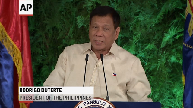 Philippines Swears in Maverick As Leader