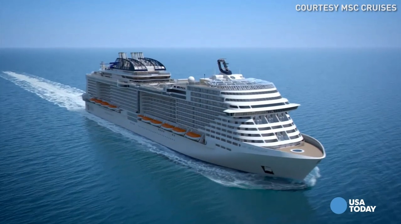 Take a virtual tour of the elegant MSC Meraviglia