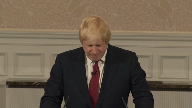 Boris Johnson Stuns, Won't Run For UK PM