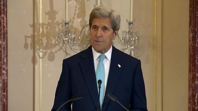 Kerry: Human Trafficking is 'Modern Day Slavery'