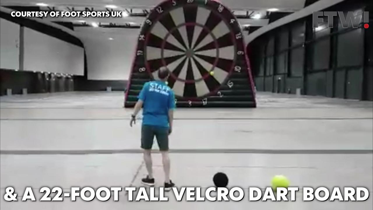 Introducing Foot Darts