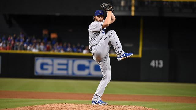 Los Angeles Dodgers pitcher Clayton Kershaw was placed on the disabled list, the team announced Thursday.