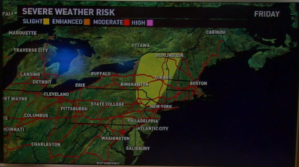 Friday's forecast: Severe storms across Northeast