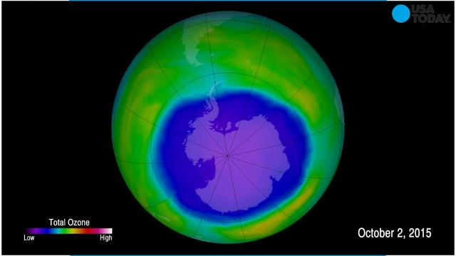 Study: Ozone hole over Antarctica beginning to heal