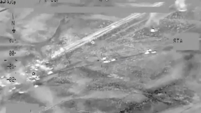 Raw: Iraq Airstrikes Kill Scores of IS Fighters