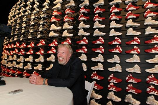 Nike co-founder Phil Knight has retired from his position as chairman of the company's board of directors, the company announced on Thursday.
