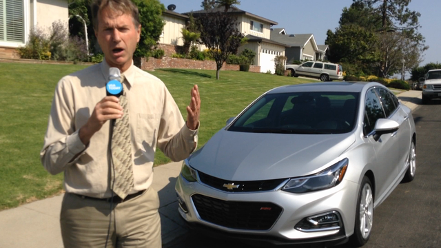 Chris Woodyard from USA Today found the new Chevrolet Cruze to be a solid performer.
