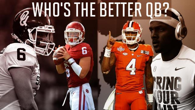 Sports Illustrated's Chris Johnson and Colin Becht debate which quarterback they believe will have a better 2016 college football season: Clemson Tigers' Deshaun Watson or Oklahoma Sooners' Baker Mayfield.