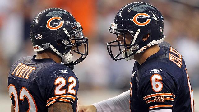 Jets running back Matt Forte said he feels bad for his former teammate and Bears quarterback Jay Cutler.
