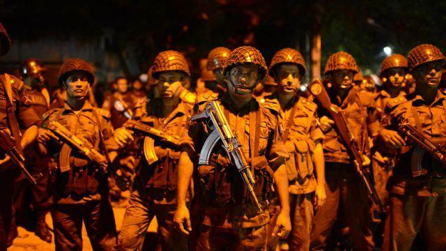 The attackers stormed a popular cafe in the capital city of Dhaka, engaging in a firefight with police.Video provided by Newsy