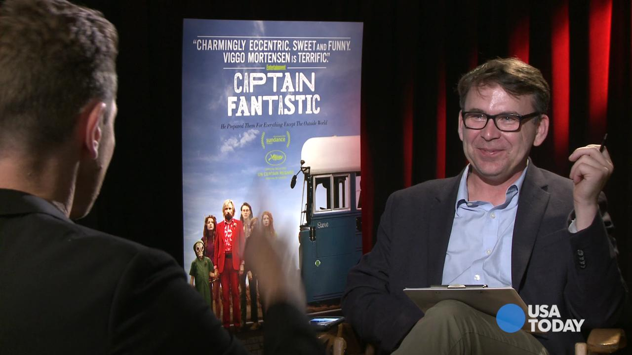Actor ('Silicon Valley') and director Matt Ross talks about directing Viggo Mortensen and that nude scene in 'Captain Fantastic.'