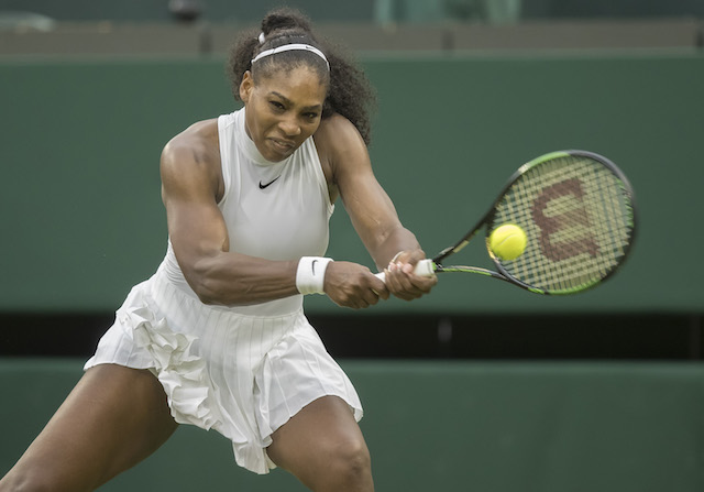 Court Report: On Wimbledon Middle Sunday, Serena cruises