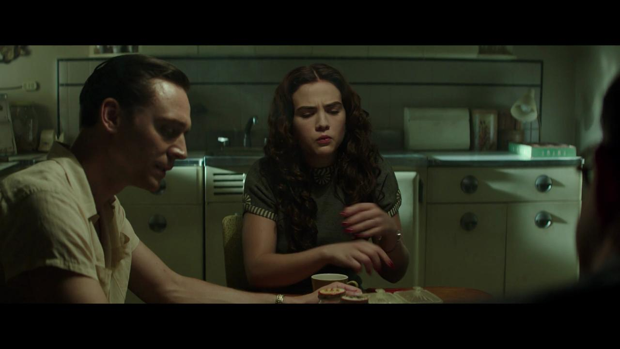 "Tom Hiddleston and Maddie Hasson star in an exclusive deleted scene from the Hank Williams biopic ""I Saw the Light."""