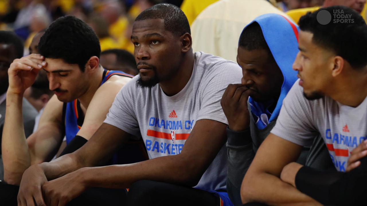 USA TODAY Sports' Sam Amick examines Durant's decision to leave the Oklahoma City Thunder to join Golden State.