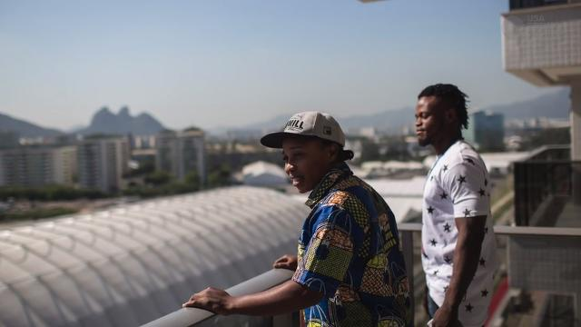 From war to Rio: Road to Olympics for two African refugees