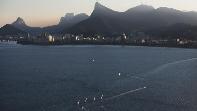 One of the areas affected is the site of the Olympic sailing competition.Video provided by Newsy