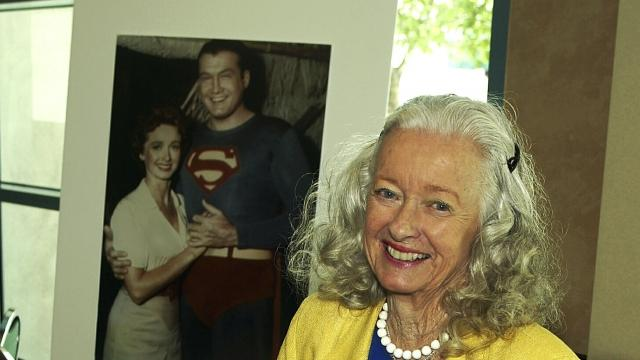 Noel Neill, the first woman to portray Superman's love interest Lois Lane on screen, has died at 95. She also starred in dozens of other projects.Video provided by Newsy