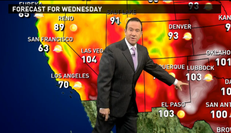 Wednesday's forecast: Dangerous heat hits TX, OK & KS