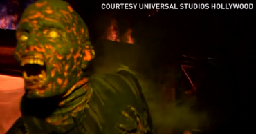 You can feel the fear of living among the dead at the latest permanent attraction at Universal Studios. The maze features animatronics, faux fire, and props from the show.