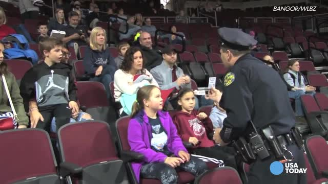 Making a difference: Athletes, cops and kids come together