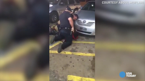 Graphic video shows Alton Sterling being shot