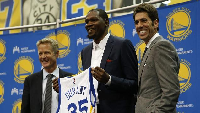 Durant explains why he's a Warrior
