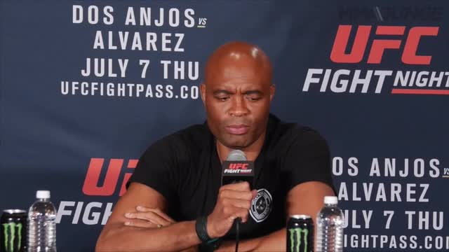Silva was his usual jovial self at a press conference announcing he'd replace Jon Jones in a bout against Daniel Cormier at UFC 200 on Saturday.