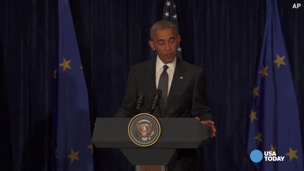 Obama on 'twisted' sniper attacks: No justification