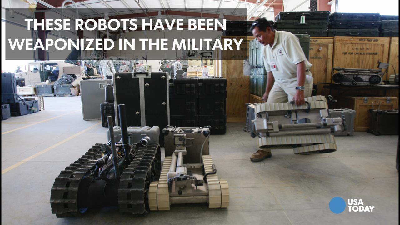 Using robots to kill: Ethics debated after Dallas