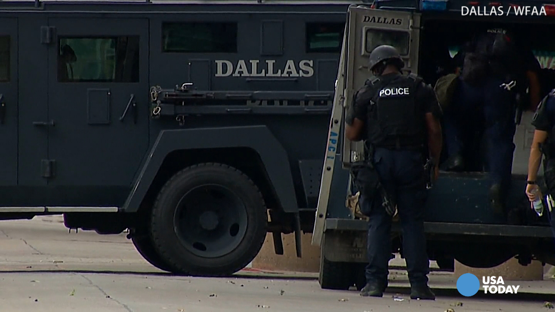 Dallas SWAT team deployed after threat to police