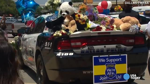 Dallas heartbroken after police ambushed
