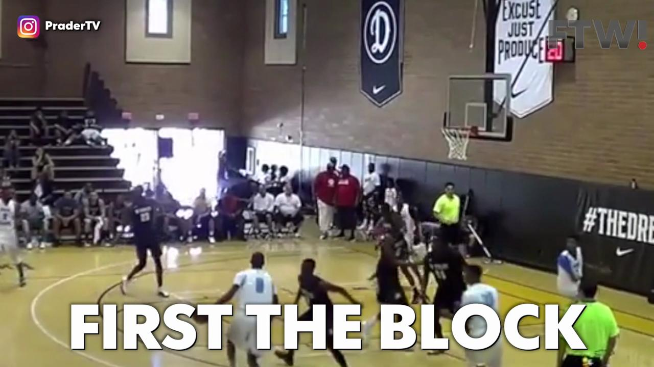 One of the best basketball plays ever