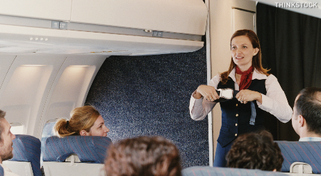Why Flight Attendants Show You How To Use A Seat Belt