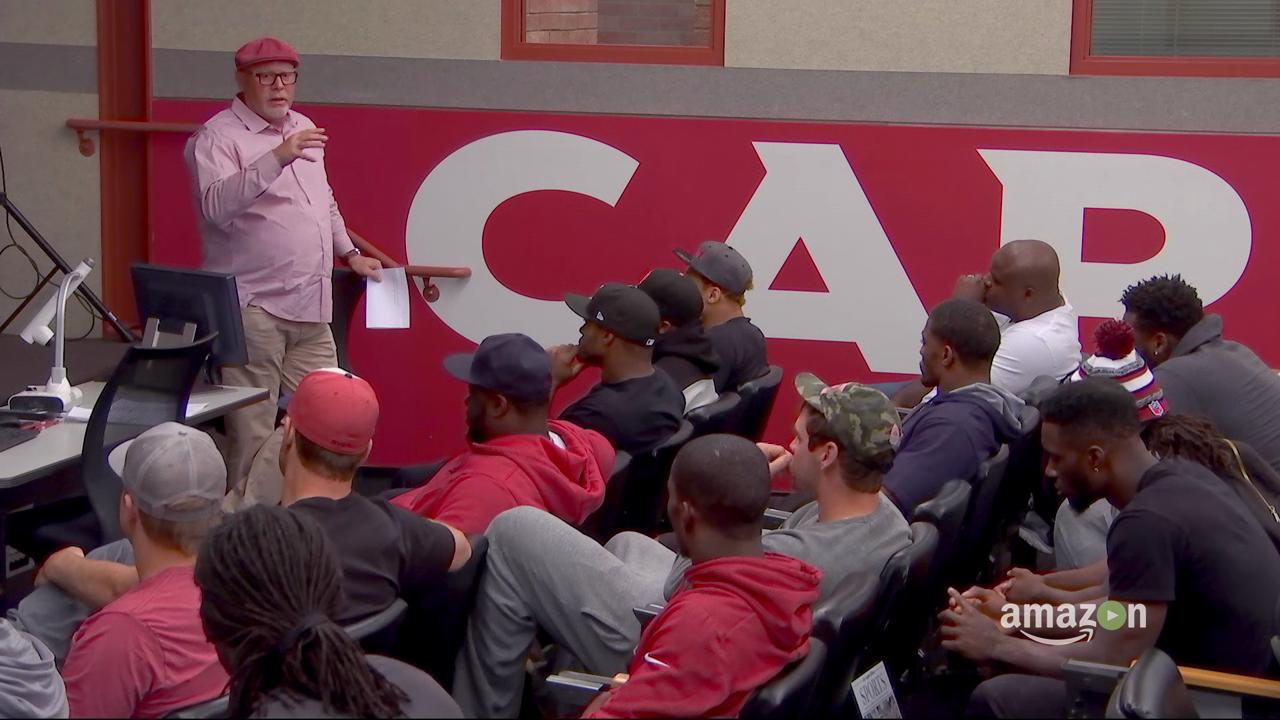 'All or Nothing' bonus feature, Bruce Arians' speech to team