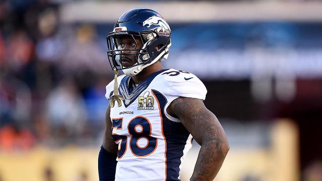 Von Miller won't sign franchise tag, cites league-wide problem