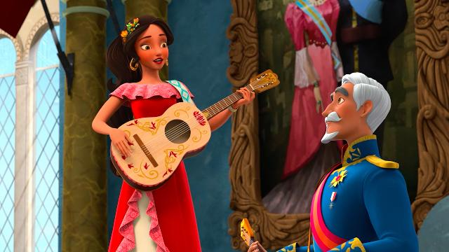 Meet Elena, Disney's first Latina princess. Go behind the scenes of the new Disney Channel series 'Elena of Avalor' to see how its creators weaved Latin and Hispanic culture into her magical world.