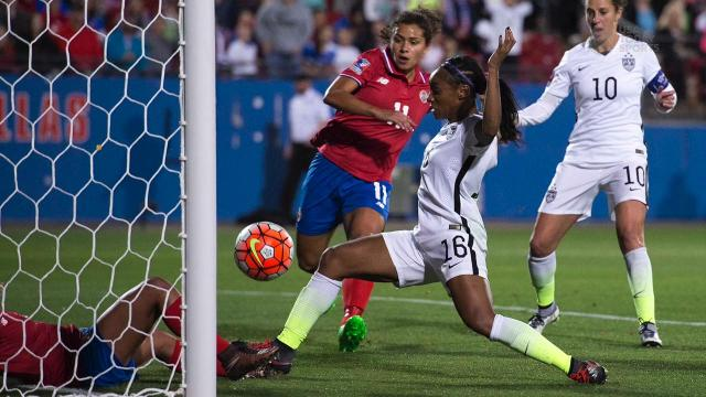 U.S. Women's Olympic soccer team announced