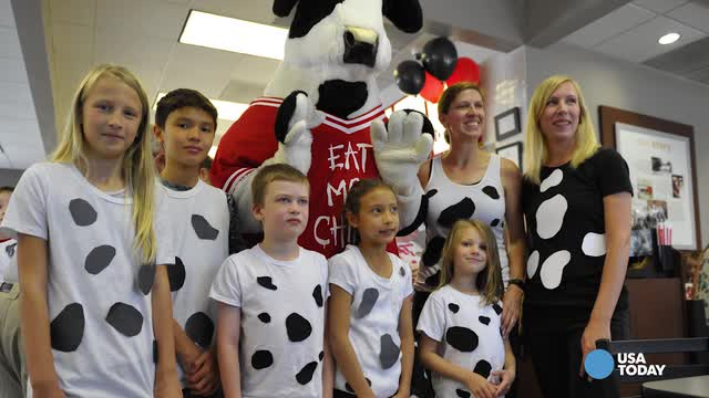 graphic about Printable Chick Fil a Cow Costume named Nationwide Cow Appreciation Working day