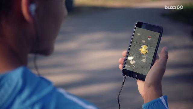 Several businesses are making real-life profits because of the augmented-reality game, Pokémon GO by luring the characters to their stores, bringing customers through their doors. Sean Dowling (@seandowlingtv) has more.