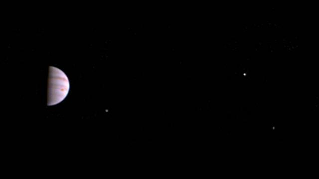 The NASA probe started orbiting the planet in early July. Video provided by Newsy
