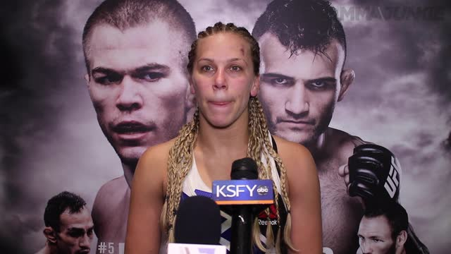 Katlyn Chookagian comfortable in UFC debut and ready to make waves
