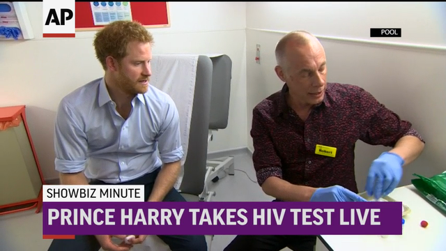 ShowBiz Minute: Saldana, Prince Harry, Swift