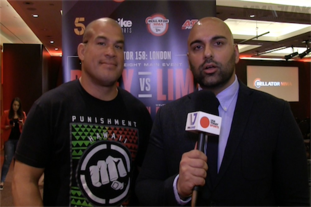 Tito Ortiz on a potential fight with Royce Gracie at MSG 'I'll be nice to Royce, I won't be too mean'
