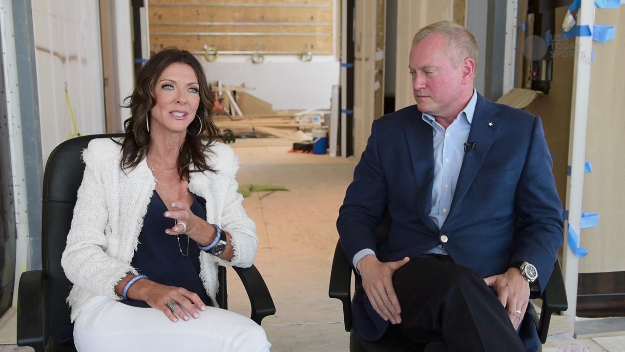 The Dallas Cowboys gave USA TODAY Sports a sneak peek at their new World Headquarters, The Star in Frisco. The mixed use facility sits on 91-acres of development which will include shopping, dinning, nightlife, athletic, fitness, and hotel facilities
