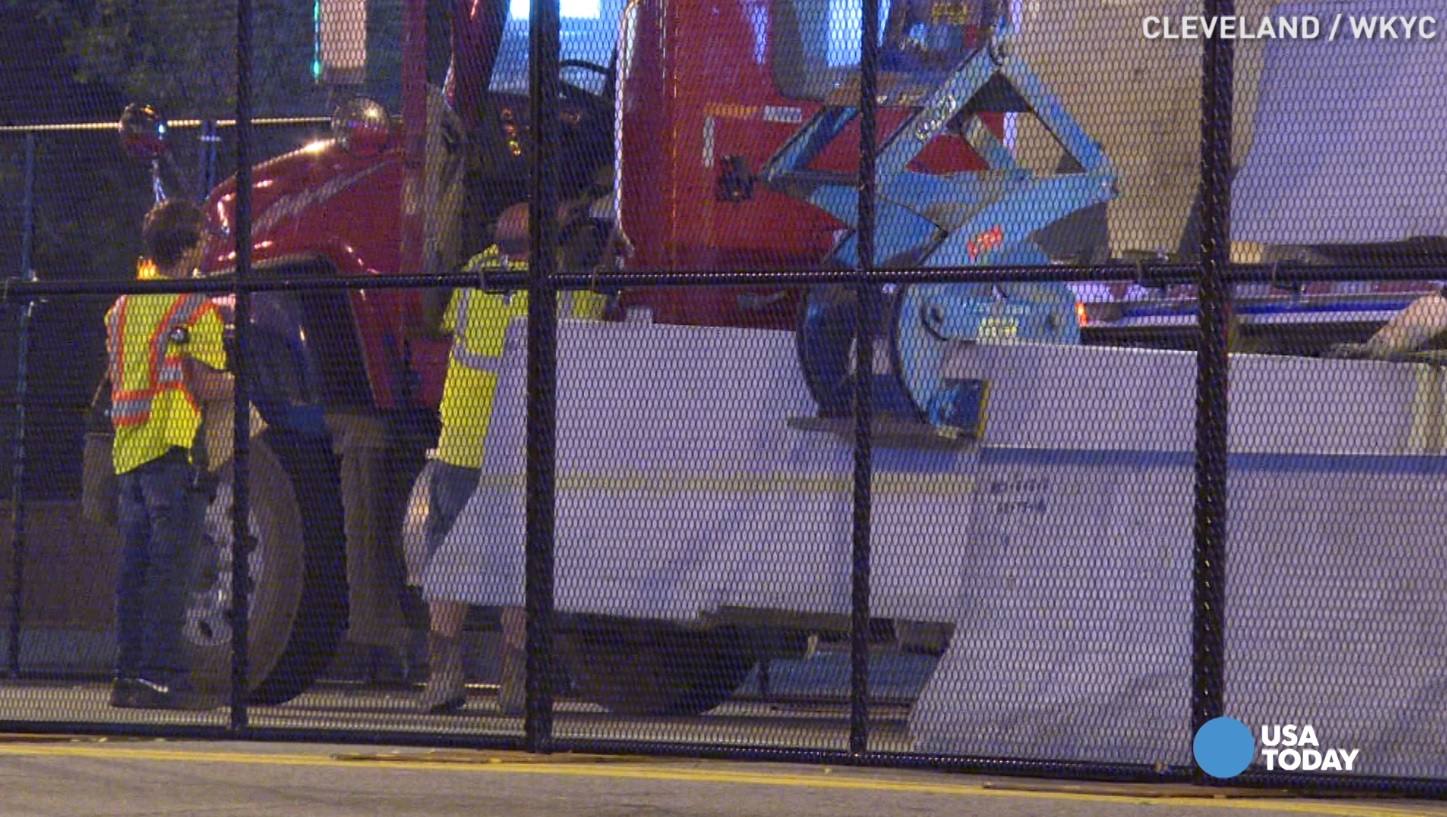 RNC adds concrete barriers for extra security
